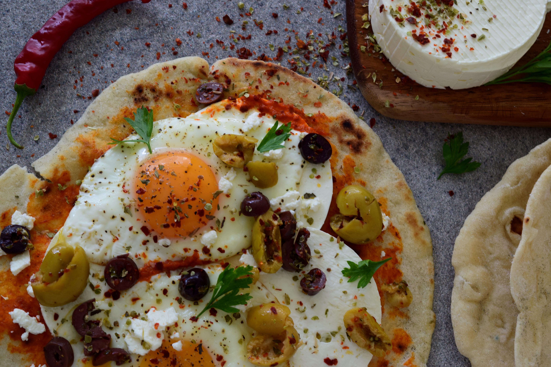 Turkiški pusryčiai su kiaušiniais