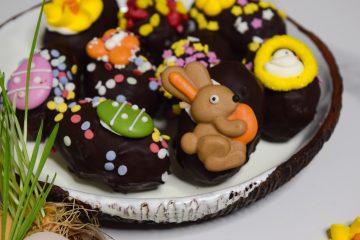 Kokosiniai saldainiai šokolade