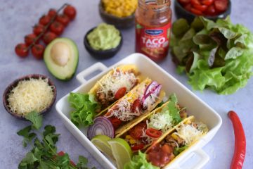 Tacos su jautiena