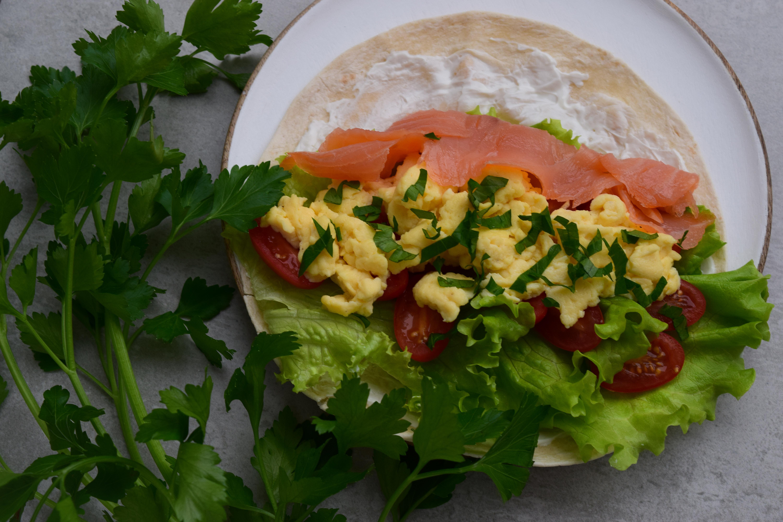 Tortilija su kiaušiniu