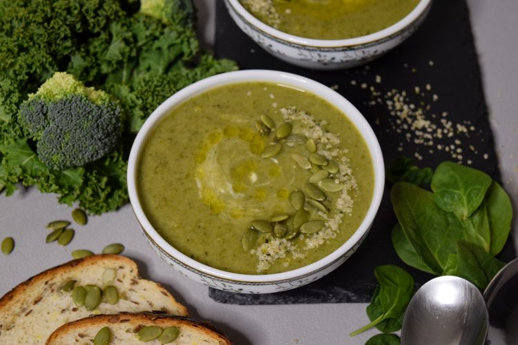 Brokolių sriuba