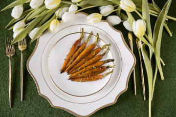 Orkaitėje keptos morkos