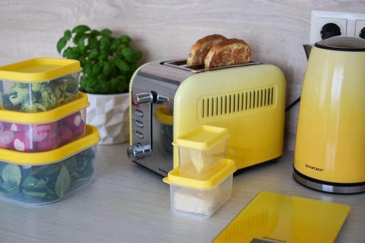 Spalvingi SilverCrest virtuvės reikmenys