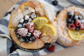 Blynai orkaitėje Dutch baby pancake