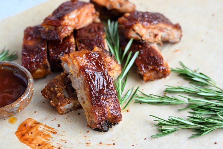 Kiaulienos BBQ šonkauliukai